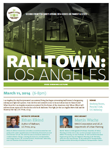 ethan elkind poster for railtown los angeles