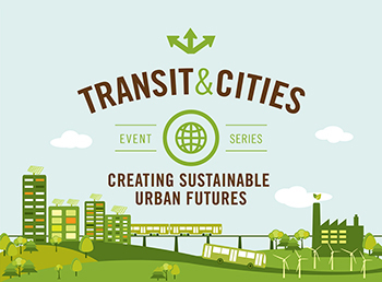 transit and cities series logo